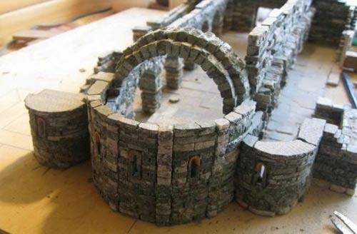 Come costruire casette per il presepe in pietra