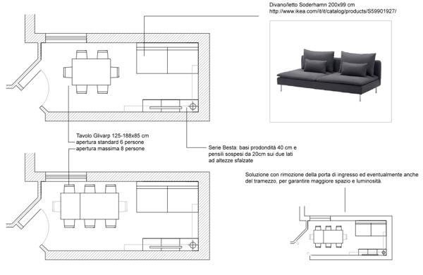 Come arredare cucina e soggiorno in un open space - Aiuto per arredare casa ...