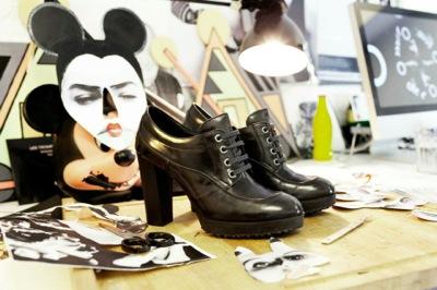 scarpe hogan con tacco