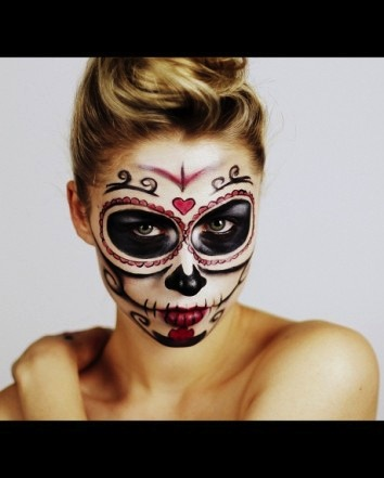 Make up Halloween ragazza | Archistyle