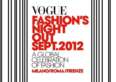 Vogue Fashion Night Out 2012: date in Italia