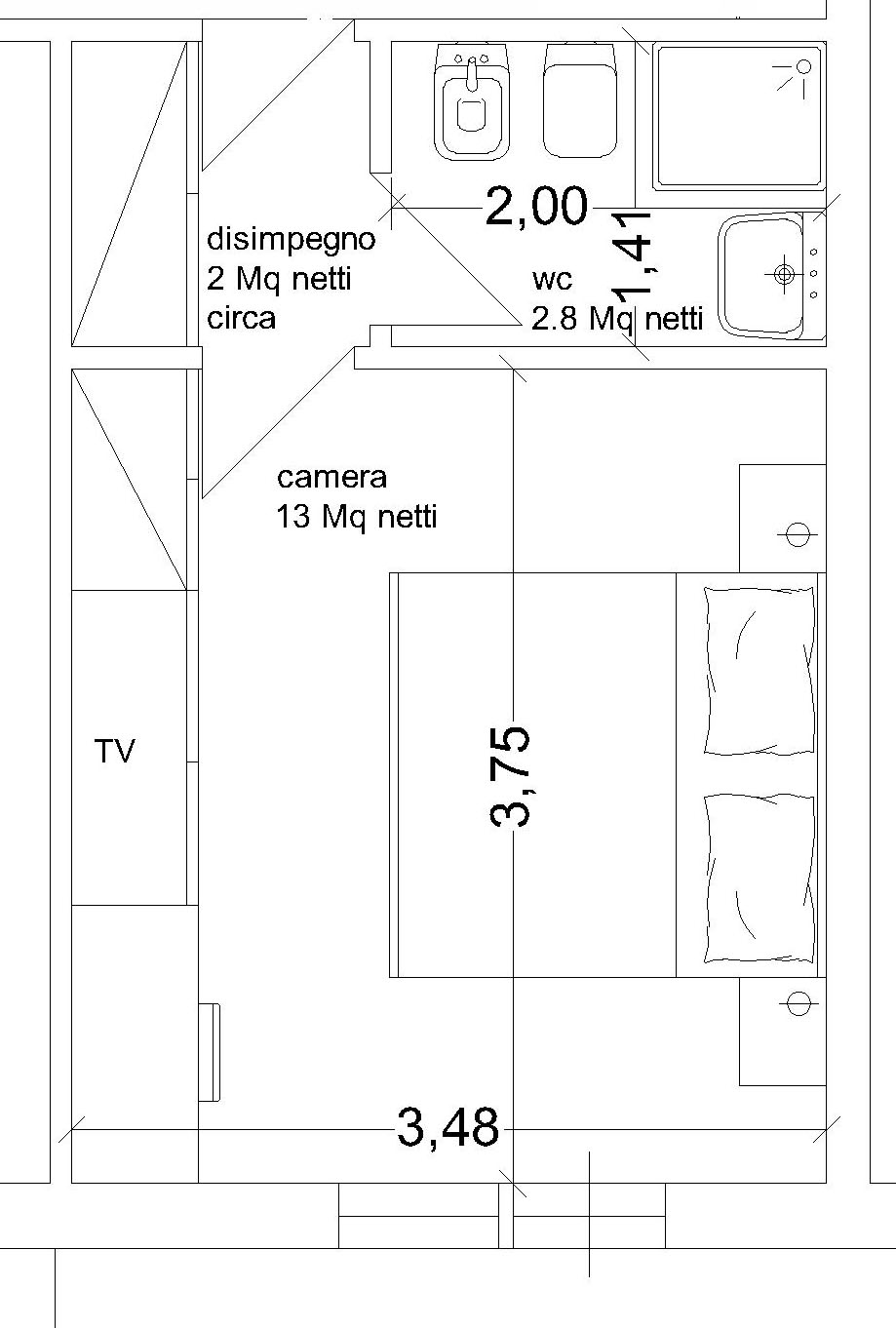 secondo-bagno-camera   Archistyle