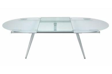 Tavoli allungabili: modelli in cristallo e in legno | Archistyle