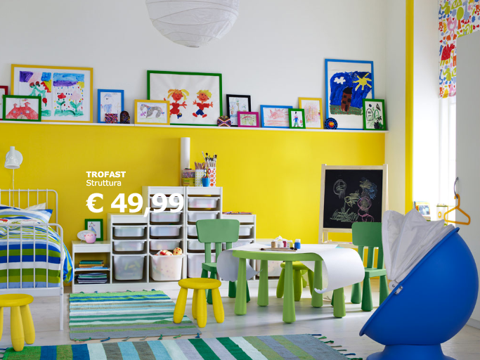 Casa moderna roma italy camerette per bambini ikea prezzi - Ikea camerette ragazze ...