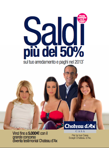 Chateau d'Ax saldi estate 2012: catalogo offerte