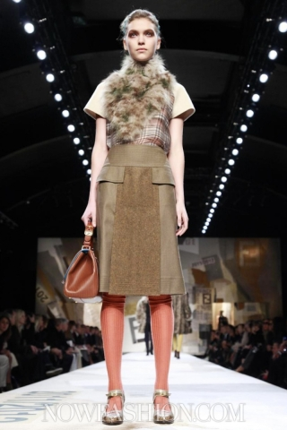 Fendi, Fall Winter 2011, Milan