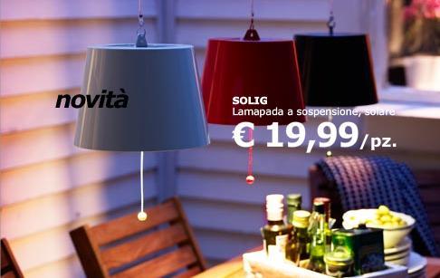 Catalogo ikea estate 2010 archistyle - Lampade energia solare ikea ...