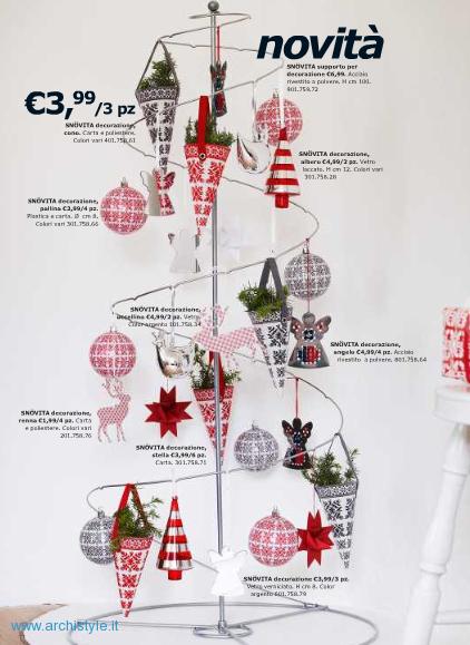 Ikea natale 2010 catalogo addobbi e decorazioni archistyle - Ikea addobbi natalizi ...