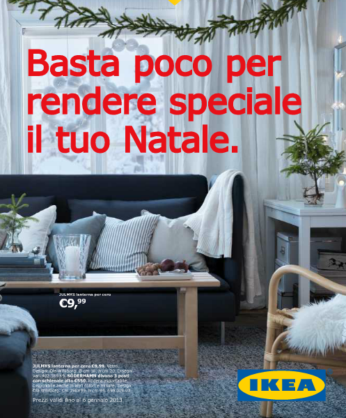 ikea natale 2012 catalogo addobbi e decorazioni archistyle. Black Bedroom Furniture Sets. Home Design Ideas