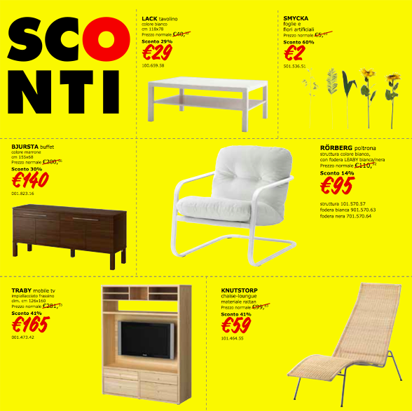 Ikea saldi 2012 archistyle - Ikea bologna catalogo on line ...