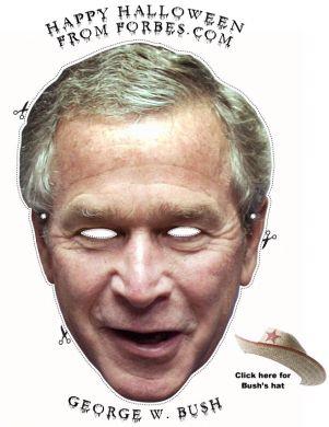 bush-maschera-carnevale