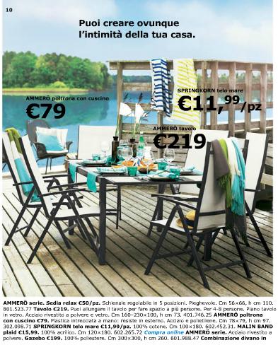 Ikea catalogo estate 2013 archistyle - Ikea dondoli da giardino ...