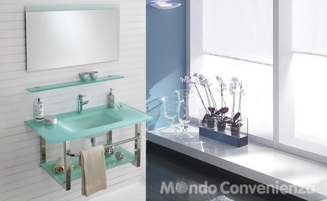 Mobile Bagno Doppio Lavabo Mondo Convenienza ~ Ispirazione ...