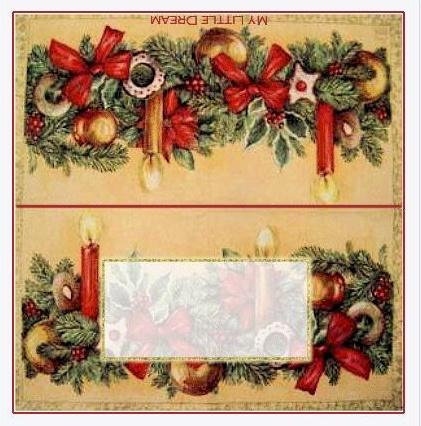 Menu Di Natale Da Stampare E Compilare.Segnaposto E Menu Di Capodanno Da Stampare Archistyle
