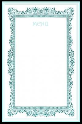 printable-menu